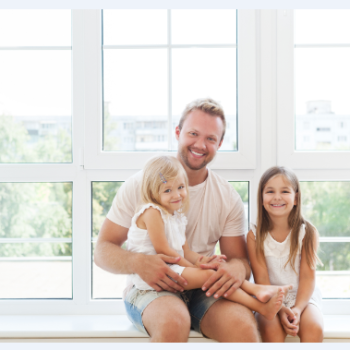family-and-window